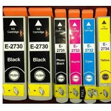 Compatible Epson 273XL Ink Cartridge Rainbow Bonus Pack
