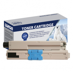 Compatible Oki C301, C321, MC342 Black Toner Cartridge 44973548