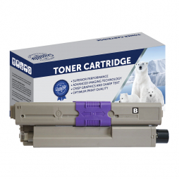Compatible Oki ES5462 Black Toner Cartridge 44973556