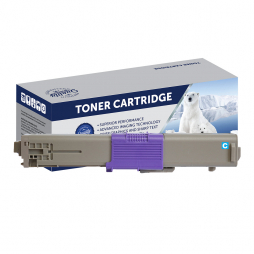 Compatible Oki ES5462 Cyan Toner Cartridge 44973555