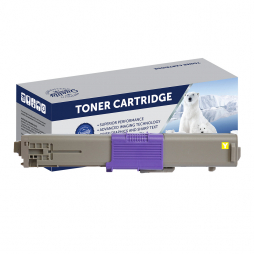 Compatible Oki ES5462 Yellow Toner Cartridge 44973553