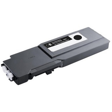 Compatible Dell C3760, C3760dn, C3765, C3765dnf Black Toner Cartridge 592-11836
