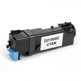 Compatible Dell Colour Laser Printer 2150, 2150cn, 2150cdn, 2155, 2155cn, 2155cdn, High Capacity Cyan Toner Cartridge