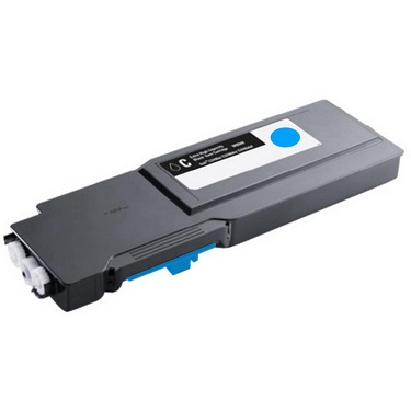Compatible Dell C3760, C3760dn, C3765, C3765dnf Cyan Toner Cartridge 592-11839