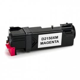 Compatible Dell Colour Laser Printer 2150, 2150cn, 2150cdn, 2155, 2155cn, 2155cdn, High Capacity Magenta Toner Cartridge