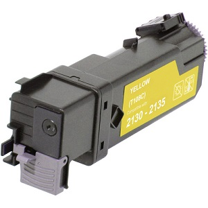 Dell Compatible 2130, 2130cn, 2135 , 2135cn Yellow High Capacity Toner Cartridge 592-10503