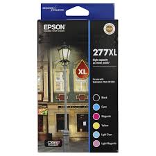 Genuine Epson 277XL Value Pack Ink Cartridges