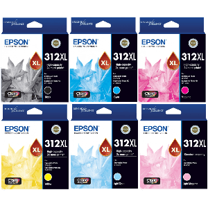 Epson 312XL, Value Pack Ink Cartridges