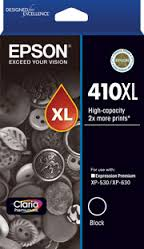 Epson 410XL, Black Ink Cartridge