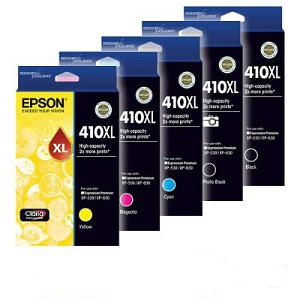 Epson 410XL, Value Pack Ink Cartridges