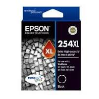 Genuine Epson 254XL Black Extra High Yield printer ink cartridge