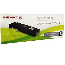 Genuine Fuji Xerox DocuPrint CP405d, CM405df, Black Toner Cartridge CT202033