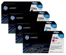 HP 124A, LaserJet Bundle Value Pack toner cartridges