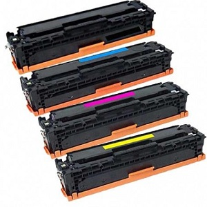 Compatible HP 410A LaserJet High Yield Multicolour Value Pack Toner Cartridges CF410A, CF411A, CF412A, CF413A