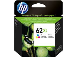Genuine HP 62XL Colour Ink Cartridge
