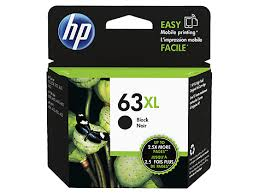 Genuine HP 63XL Black Ink Cartridge