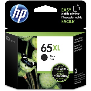 Genuine HP 65XL, Black Ink Cartridge