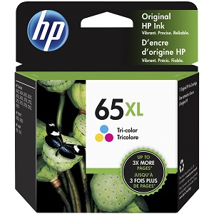 Genuine HP 65XL, Colour Ink Cartridge