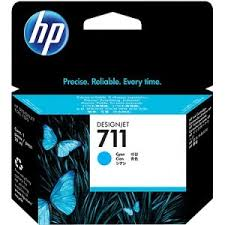 Genuine HP 711 Cyan Ink Cartridge