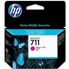 Genuine HP 711 Magenta Ink Cartridge