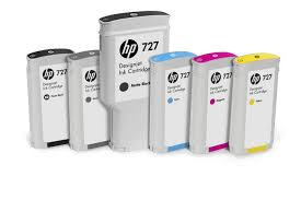 Genuine HP 727 Value Pack DesignJet Ink Cartridges