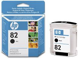 Genuine HP 82 Designjet Black ink cartridge