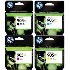 Genuine HP 905XL, Value Pack OfficeJet Pro Ink Cartridges