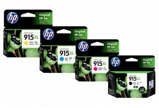 Original HP 915XL Value Pack Ink Cartridges