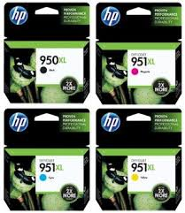 Genuine HP OfficeJet Pro 251dw, 276dw, 8100e, 8600 Plus, 8610e, 8620e, 8630 Multicolour Multipack Ink Cartridges 950XL, 951XL