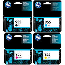 Genuine HP OfficeJet Pro 7720, 7730, 7740, 8210, 8216, 8710, 8720, 8730, 8740, 8745 Multicolour Multipack High Yield Ink Cartridges 955