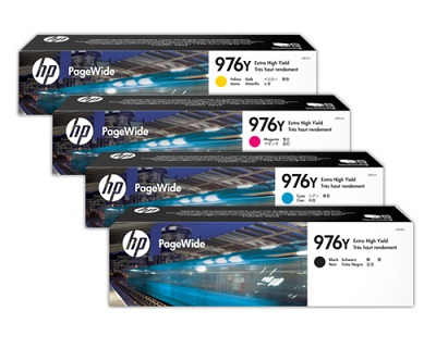 HP 976Y Value Pack Extra High Yield Original PageWide Ink Cartridges