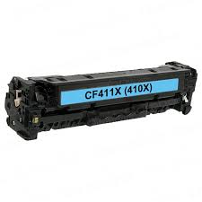 Compatible HP 410X, CF411X Cyan HP LaserJet Cartridge
