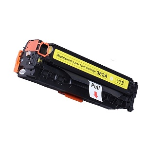 Compatible HP 312A Yellow Laserjet toner cartridge cf382a
