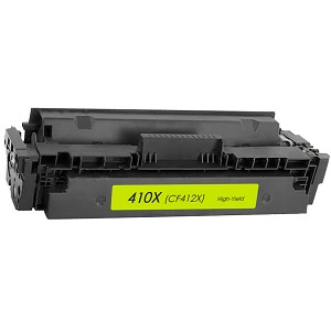 Compatible HP 410X, CF412X Yellow HP LaserJet Cartridge