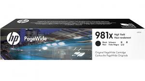 Genuine HP 981X Page Wide 556, 586 Black Ink Cartridge