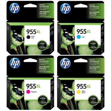 Genuine HP OfficeJet Pro 7720, 7730, 7740, 8210, 8216, 8710, 8720, 8730, 8740, 8745 Multicolour Multipack High Yield Ink Cartridges 955XL