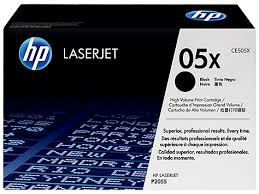 Original HP 05X, LaserJet toner cartridge ce505x