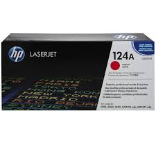 Original HP 124A, Magenta LaserJet toner cartridge q6003a