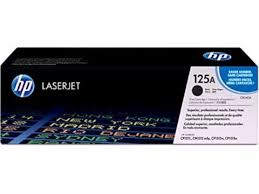 Original HP 125A, Black LaserJet toner cartridge cb540a