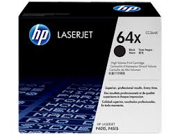 Original HP LaserJet P4015, P4015n, P4015dn, P4015tn, P4015x, P4510, P4515, P4515n, P4515tn, P4515x High Yield Black Toner Cartridge 64X