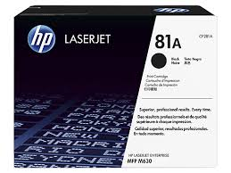 HP MICR, 81A LaserJet Toner Cartridge cf281a