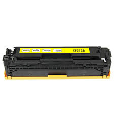 Compatible HP 131A, Yellow LaserJet toner cartridge cf212a
