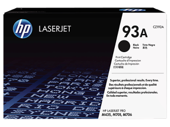 HP 93A, LaserJet toner cartridge cz192a