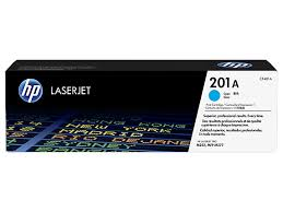 HP 201A, Cyan LaserJet toner cartridge cf401a