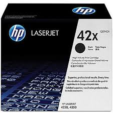 HP MICR Laserjet 4250, 4350, Q5942X, 42X, toner cartridge