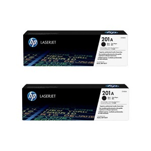 HP 201X, Black LaserJet Original Double Pack Toner Cartridges