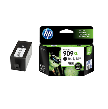 Genuine HP 909XL, Black OfficeJet Pro Ink Cartridge
