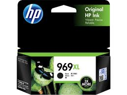 Original HP OfficeJet Pro 9020, 9026, 9028 Extra High Yield Black Ink Cartridge 969XL