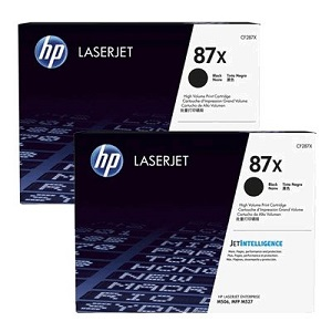 Original HP 87X, LaserJet Double Pack Toner Cartridges