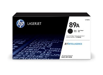 Original HP 89A, Black LaserJet Toner Cartridge cf289a